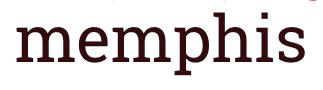 individuelle Teppich Kollektion Memphis
