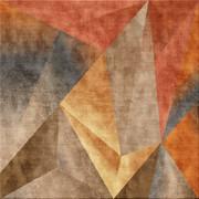 oranger Teppich