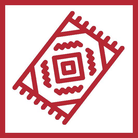 Finden von exklusiven, handgefertigten Teppiche in verschiedenen Ausführungen und Designs