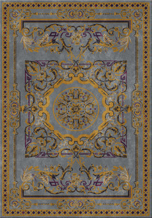 Teppich aus dem ANNA VEDA Teppichkonfigurator (Teppich Atelier)